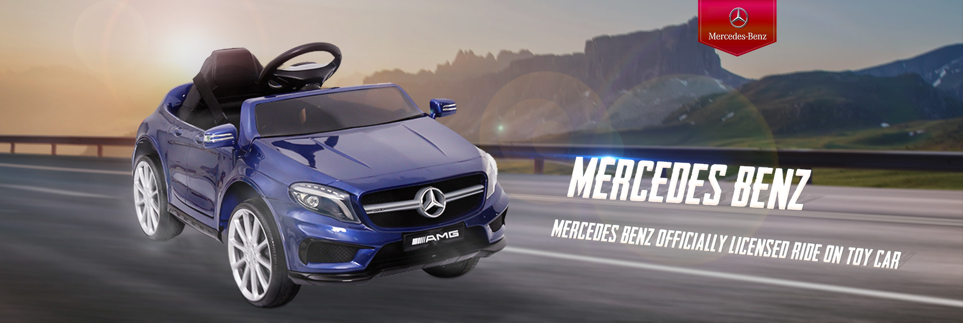 Mercedes Benz Officially Licensed Ride On Toy Car