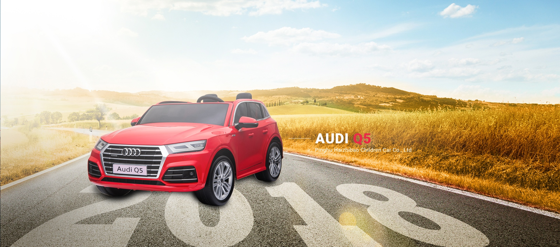 Audi Officially Licensed Ride On Toy Car